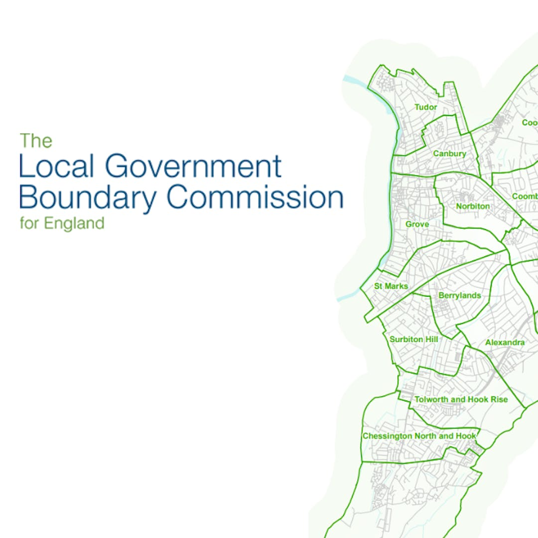 Logo for the Local Government Boundary Commission.