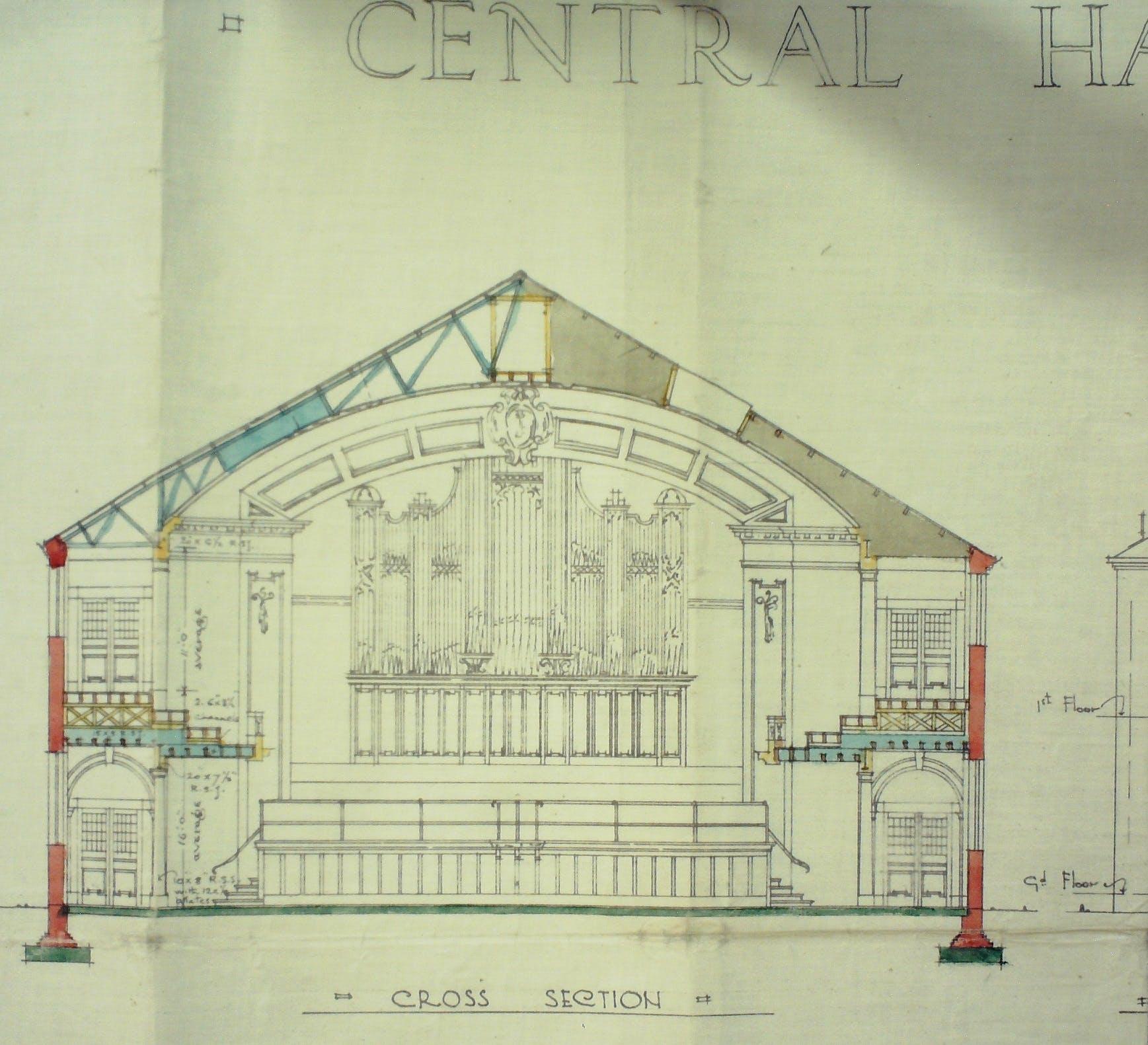 Central Hall plans 1925.jpg