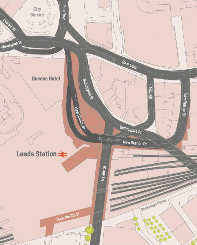 Station Road map