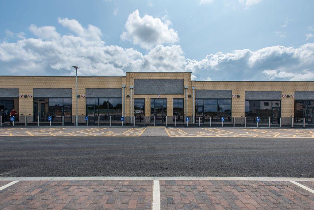 Monks Way retail park