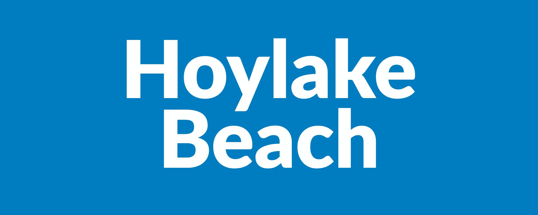 Hoylake Beach text