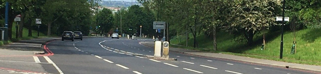 Junction of Lumley Road and St Dunstan's Hill