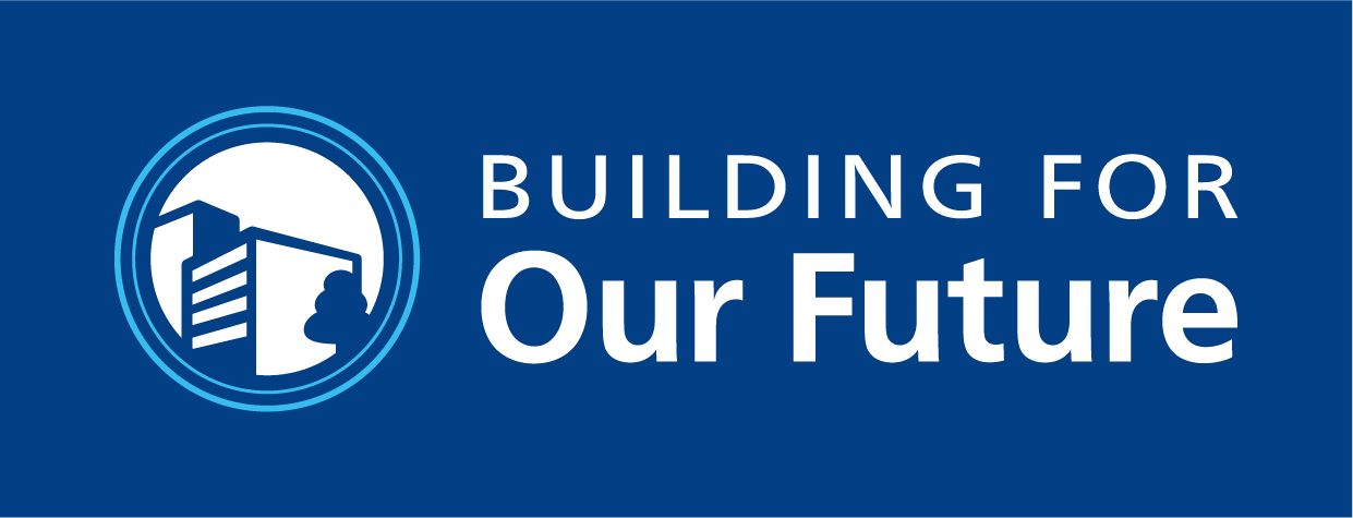 A warm welcome to Building for our Future!