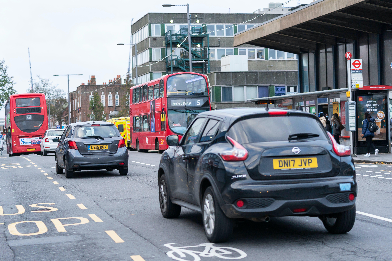 Cars dominate Station Parade