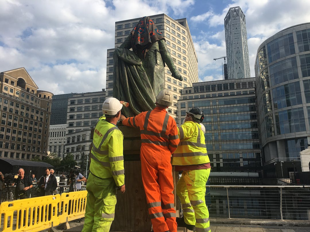 In June the Council worked with the Canal and Rivers Trust and the Museum of London, Docklands to remove a statue of former slave owner Robert Milligan from West India Docks