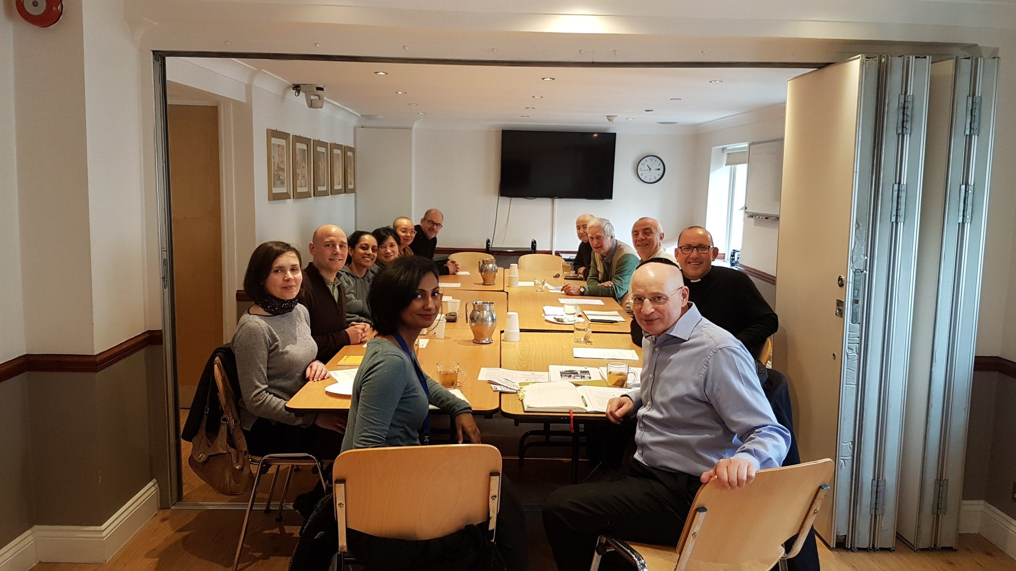 The commission meet with the Interfaith Matters Forum