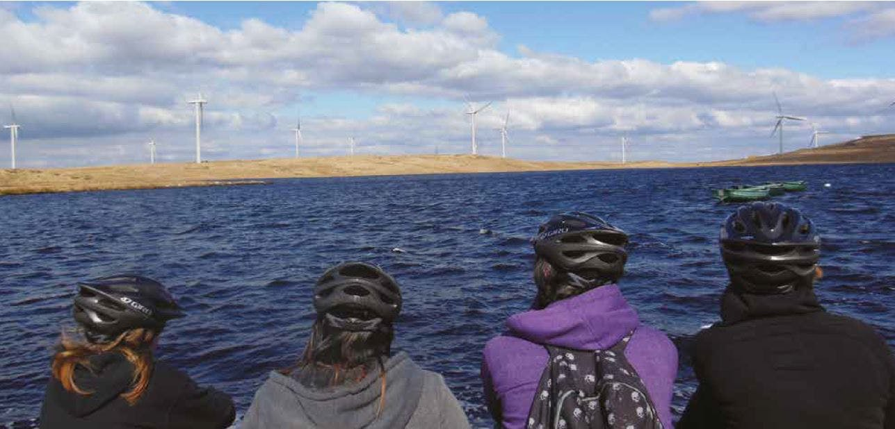 Sponsored trip to Whitelee Wind Farm