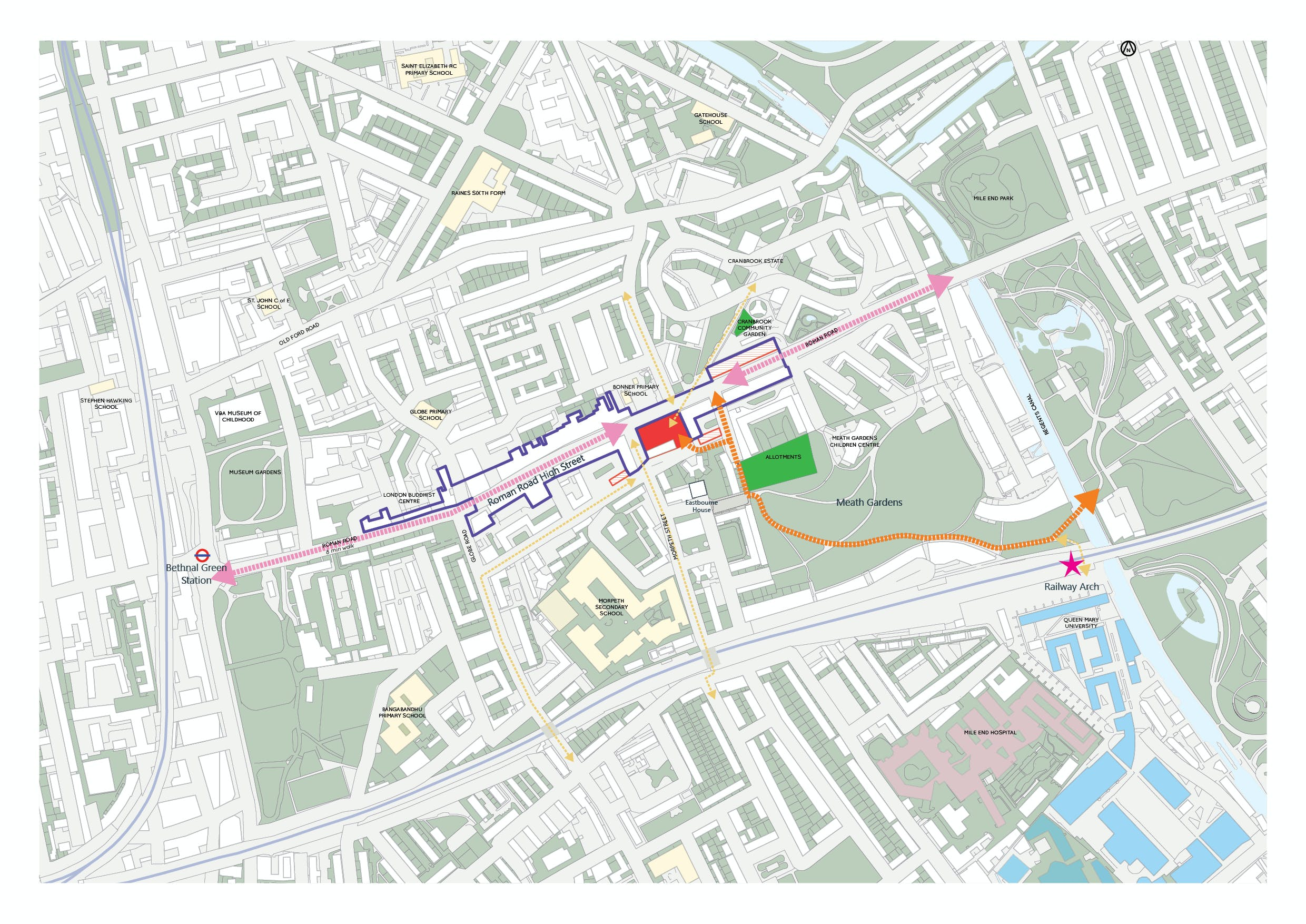 Roman road west regeneration programme masterplan