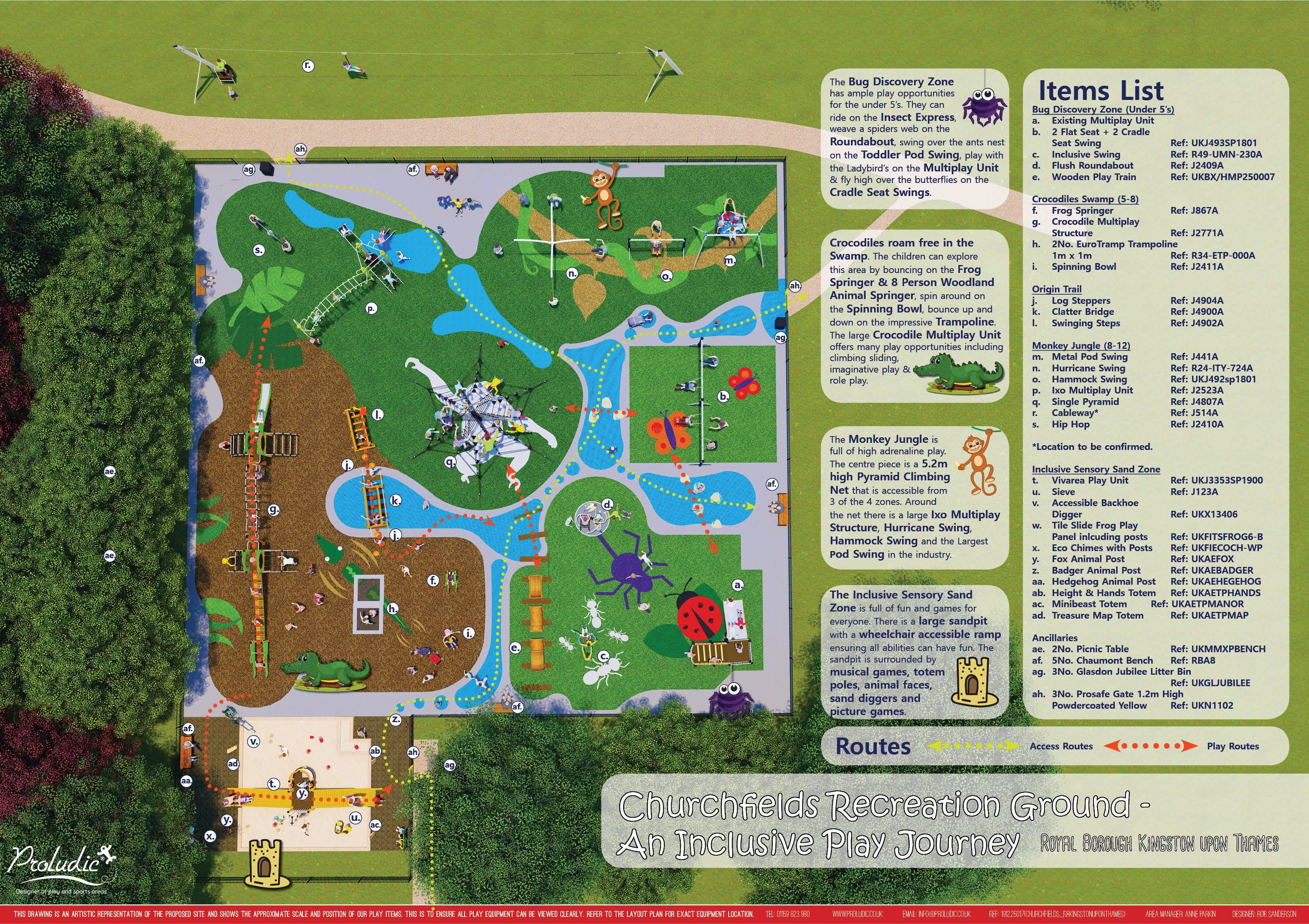 Churchfields Final Map