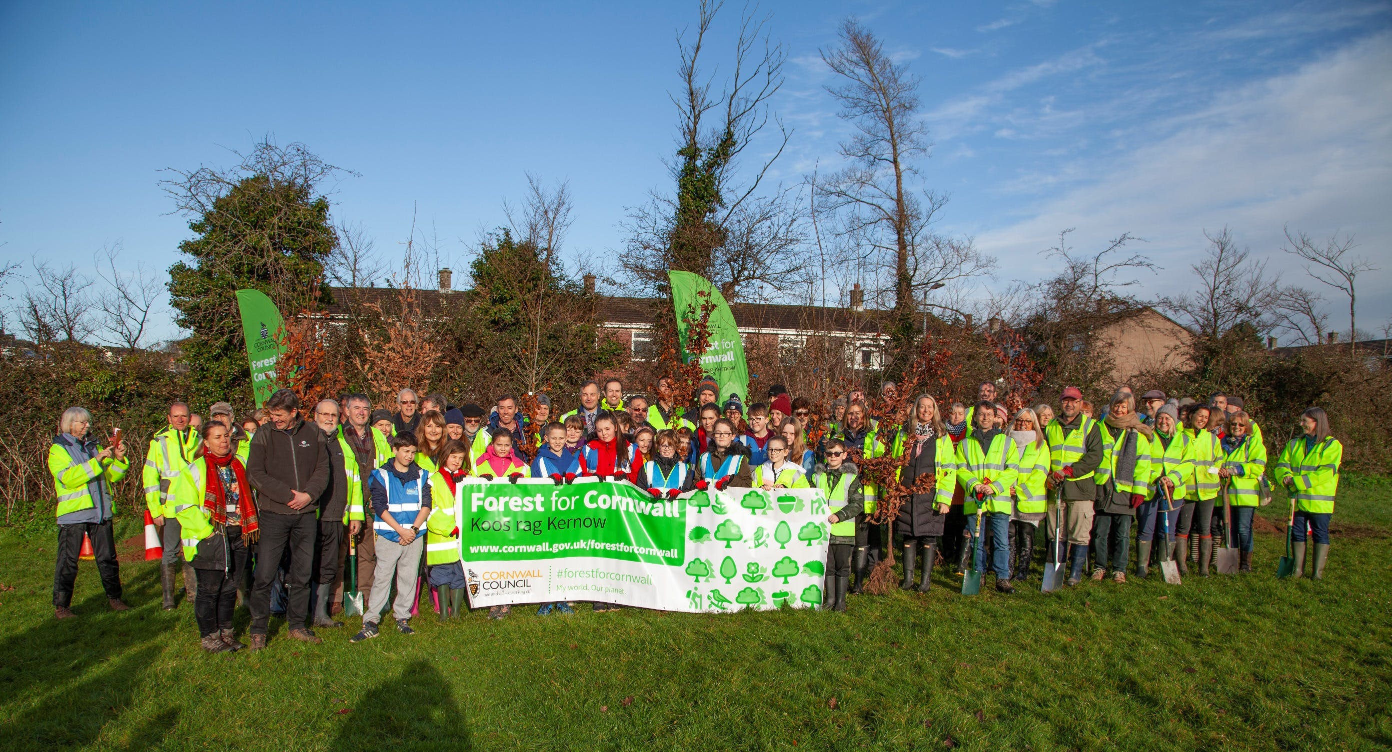 Saltash - Forest for Cornwall Launch Event