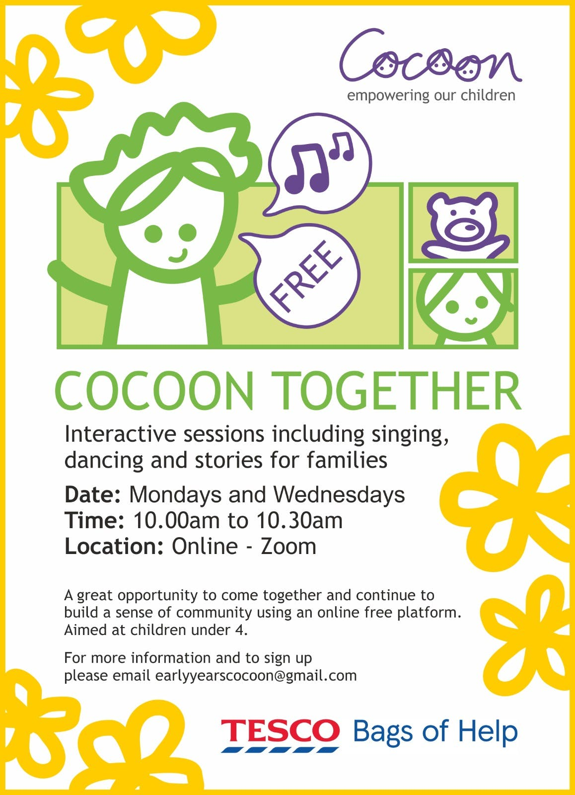 Spring Cocoon Together programme