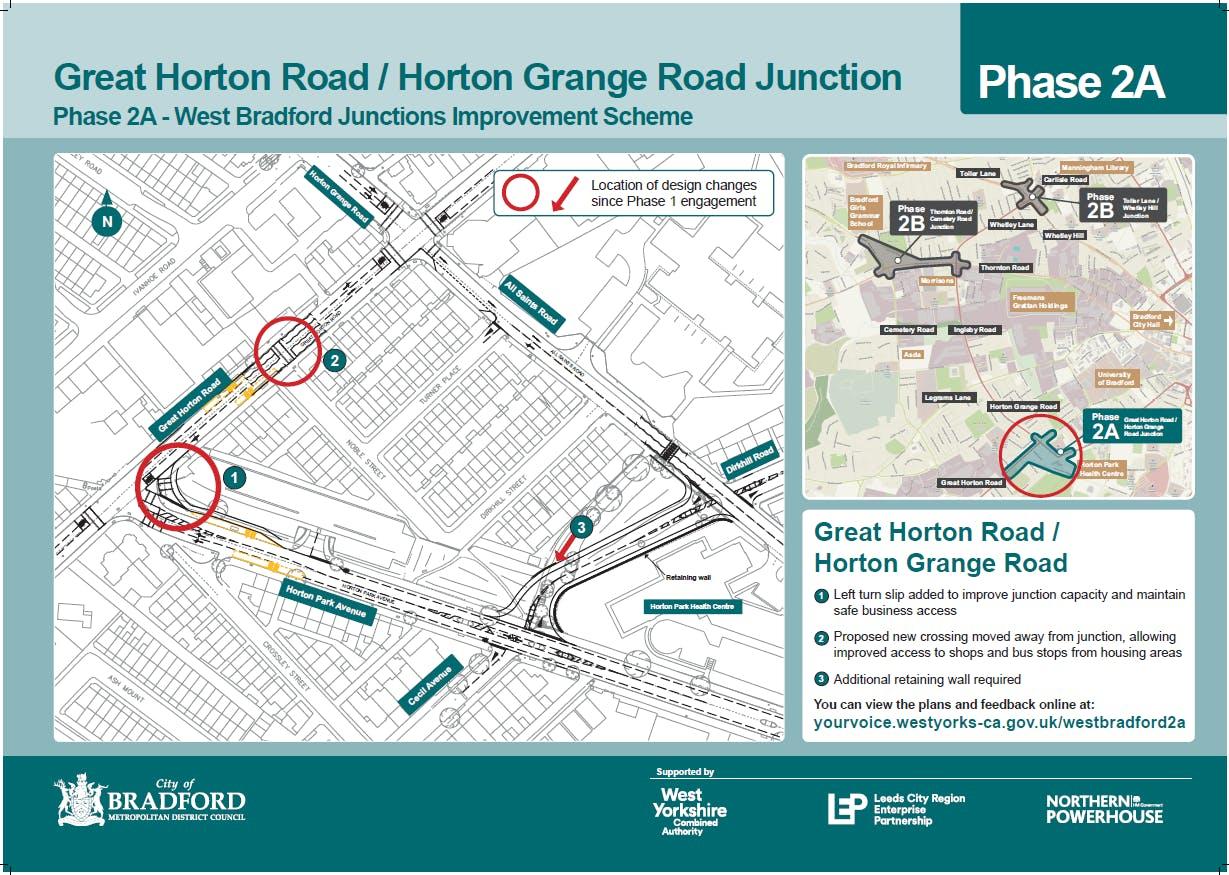 Great Horton Rd   Horton Grange Rd Junction