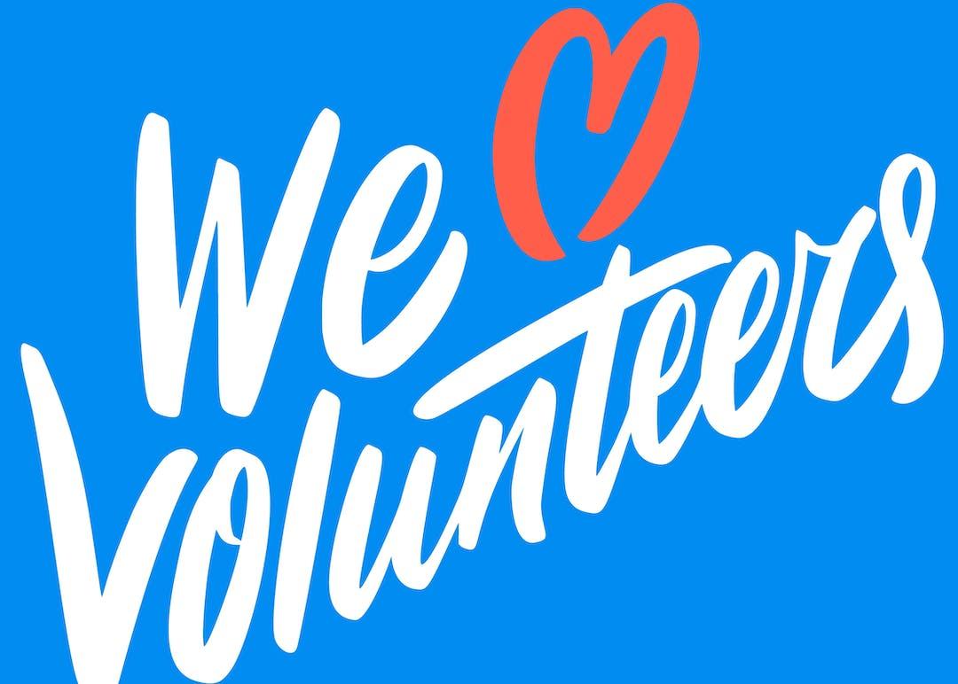 We heart volunteers