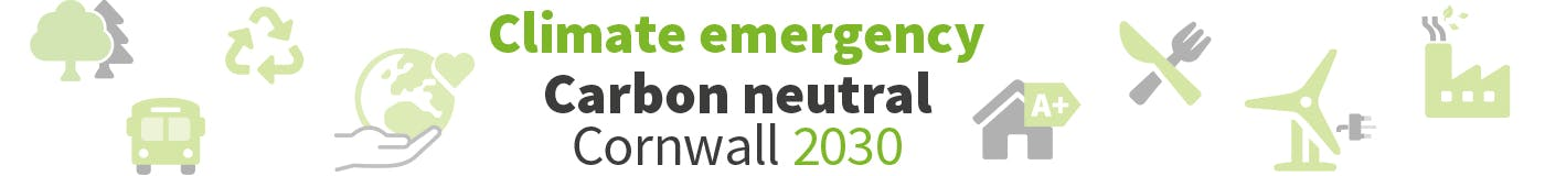 Carbon Neutral Cornwall graphic