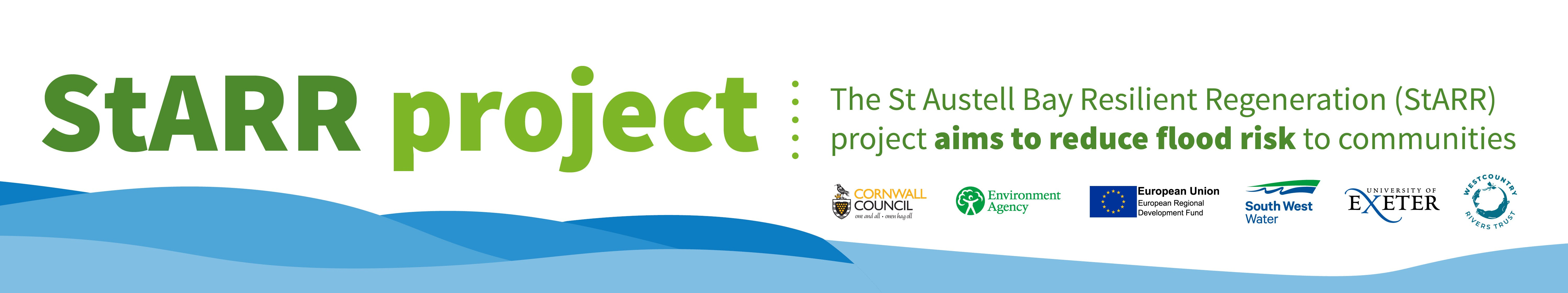 St Austell Bay Resilient Regeneration (StARR) project aims to reduce flood risk to communities