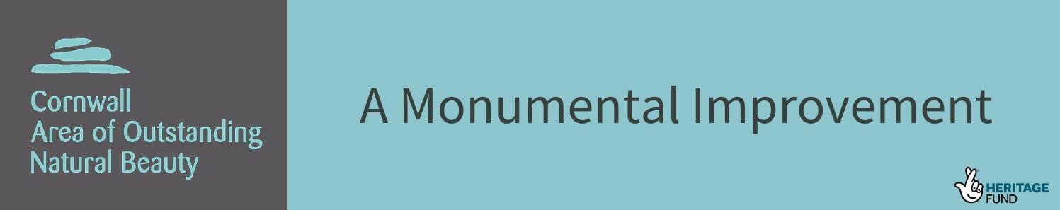 Cornwall AONB Monumental Improvement Banner