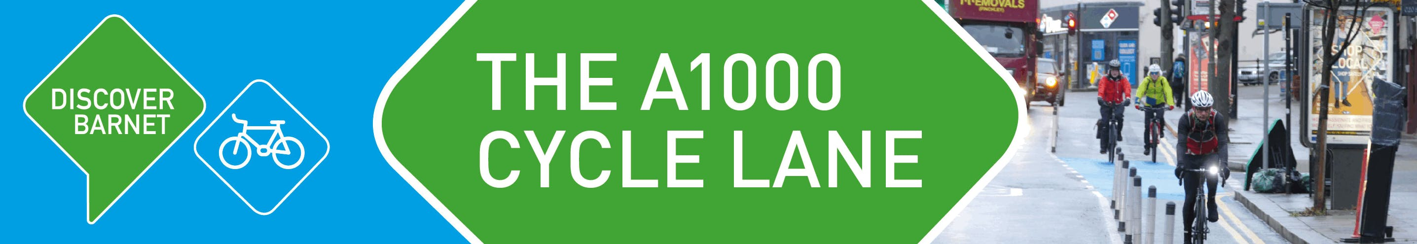 The A1000 cycle lane