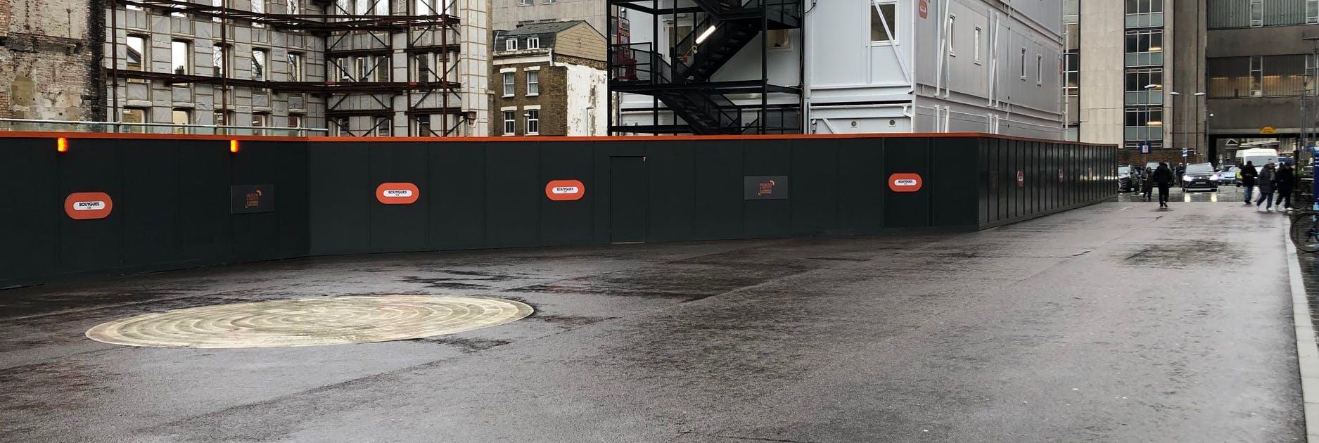 View across London Square