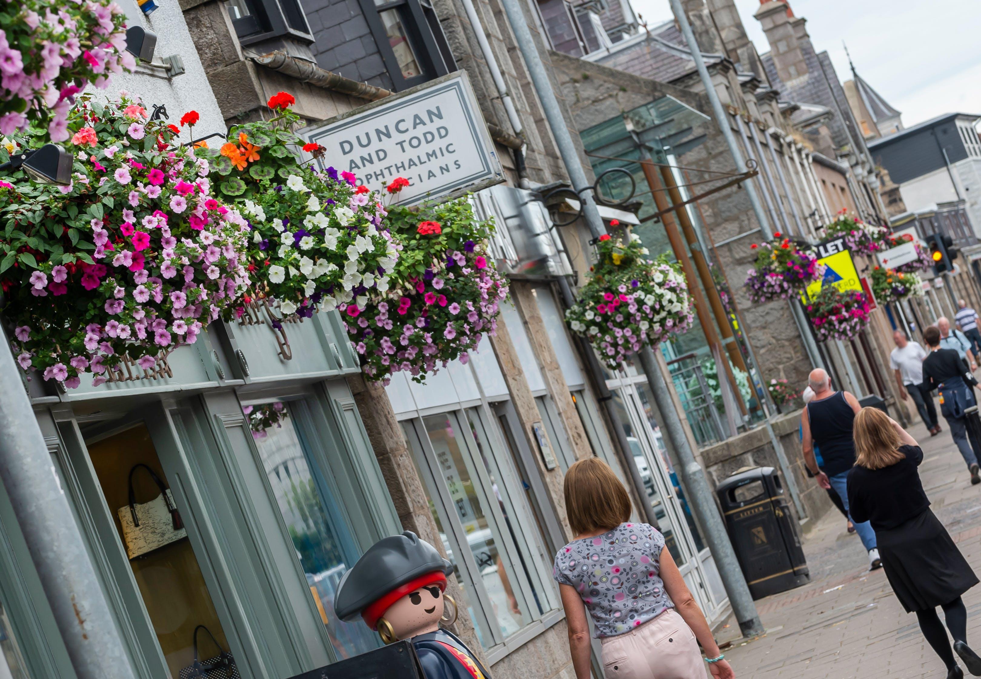 Inverurie Town Centre Shops
