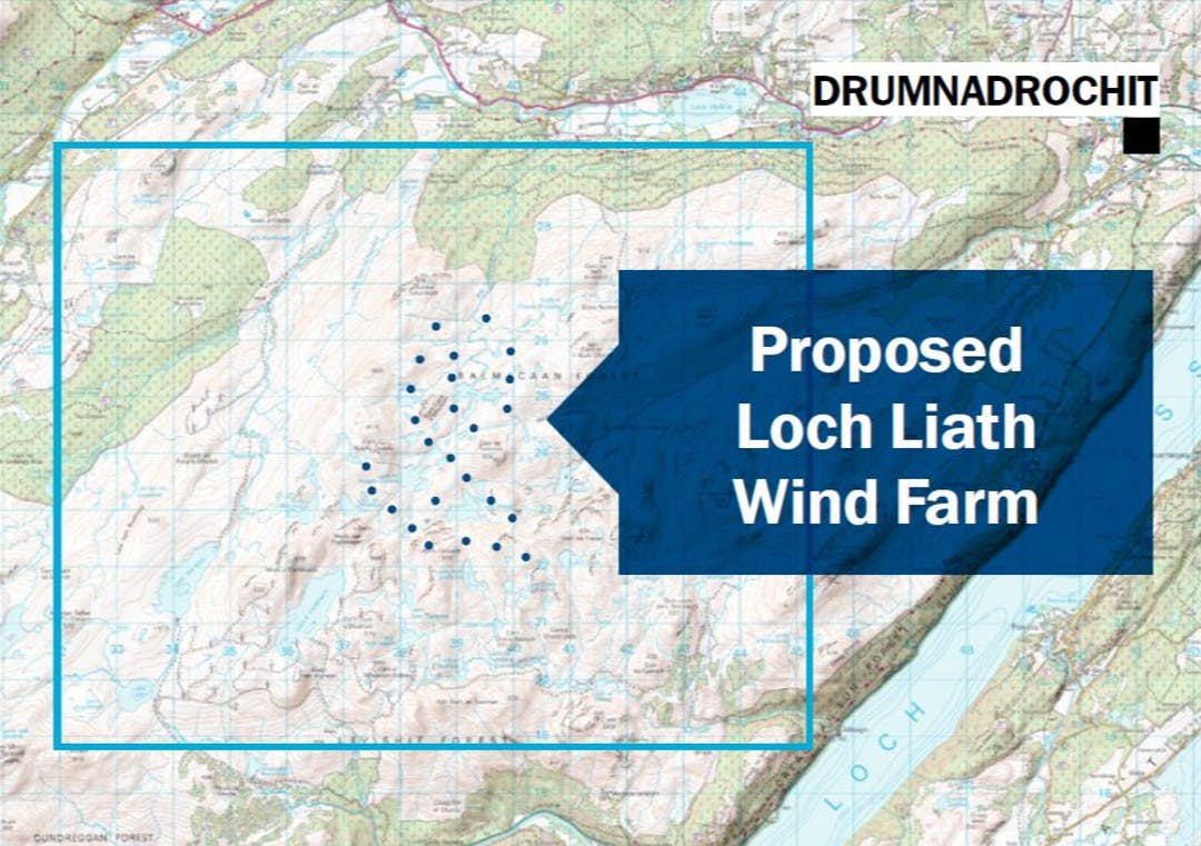Find out more about Statkraft's proposal for the Loch Liath Wind Farm