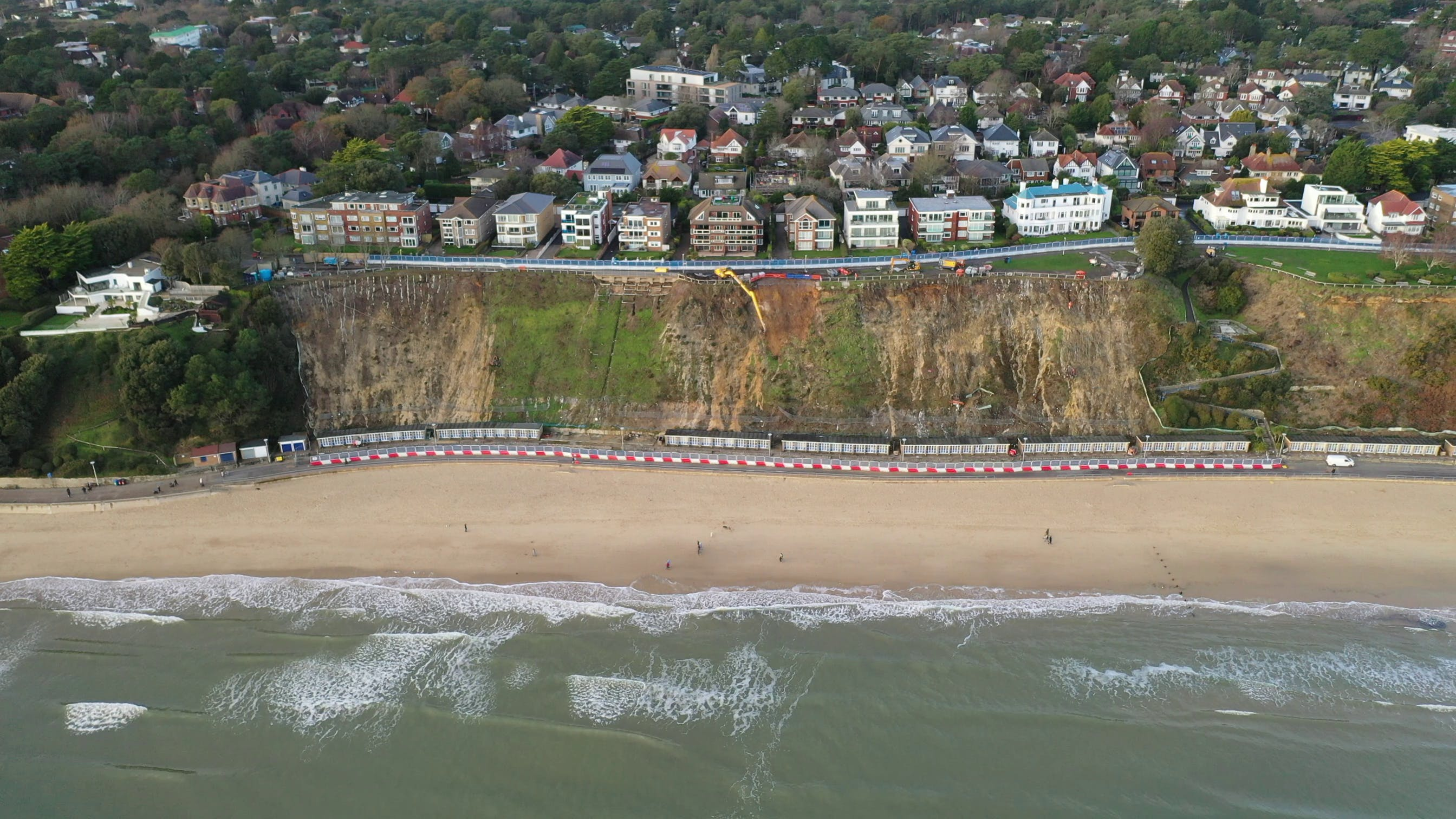Canford Cliff repair work
