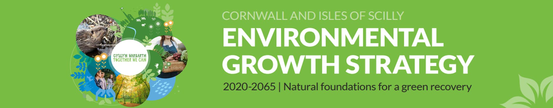 Cornwall & Isles of Scilly Environmental Growth Strategy 2020-2065 banner image