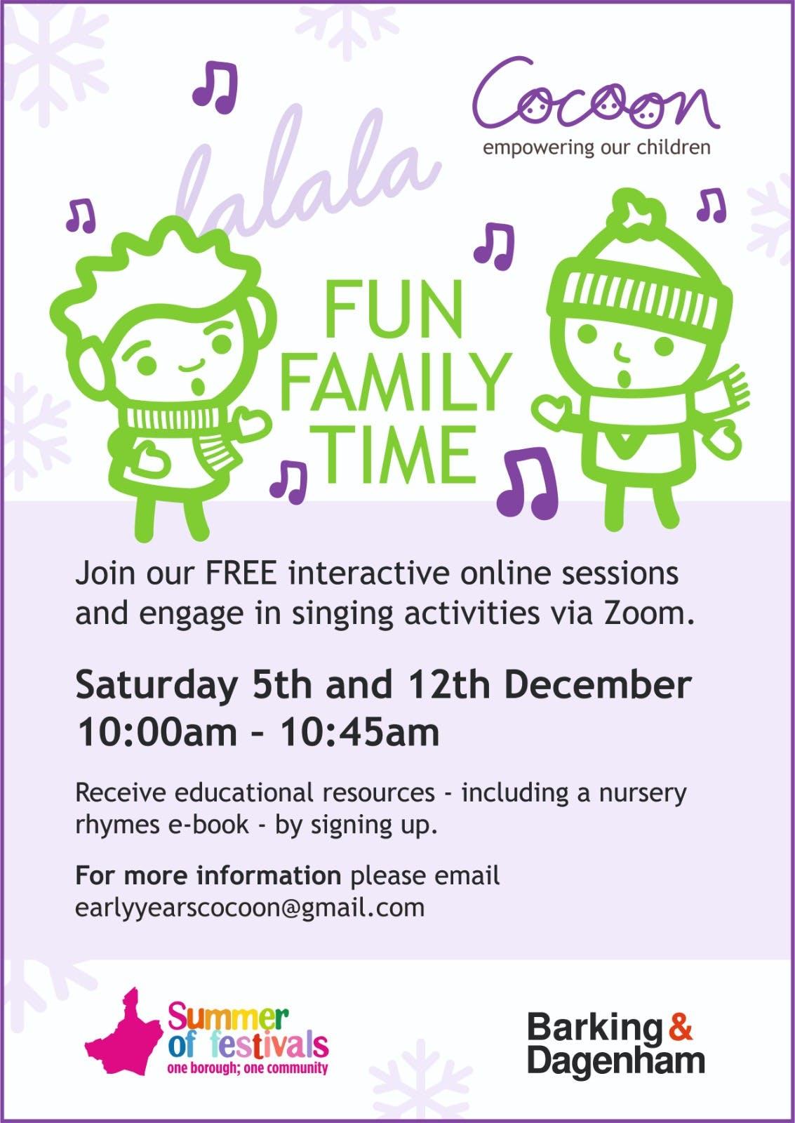 Lalala 3 & 4 Christmas/Winter event