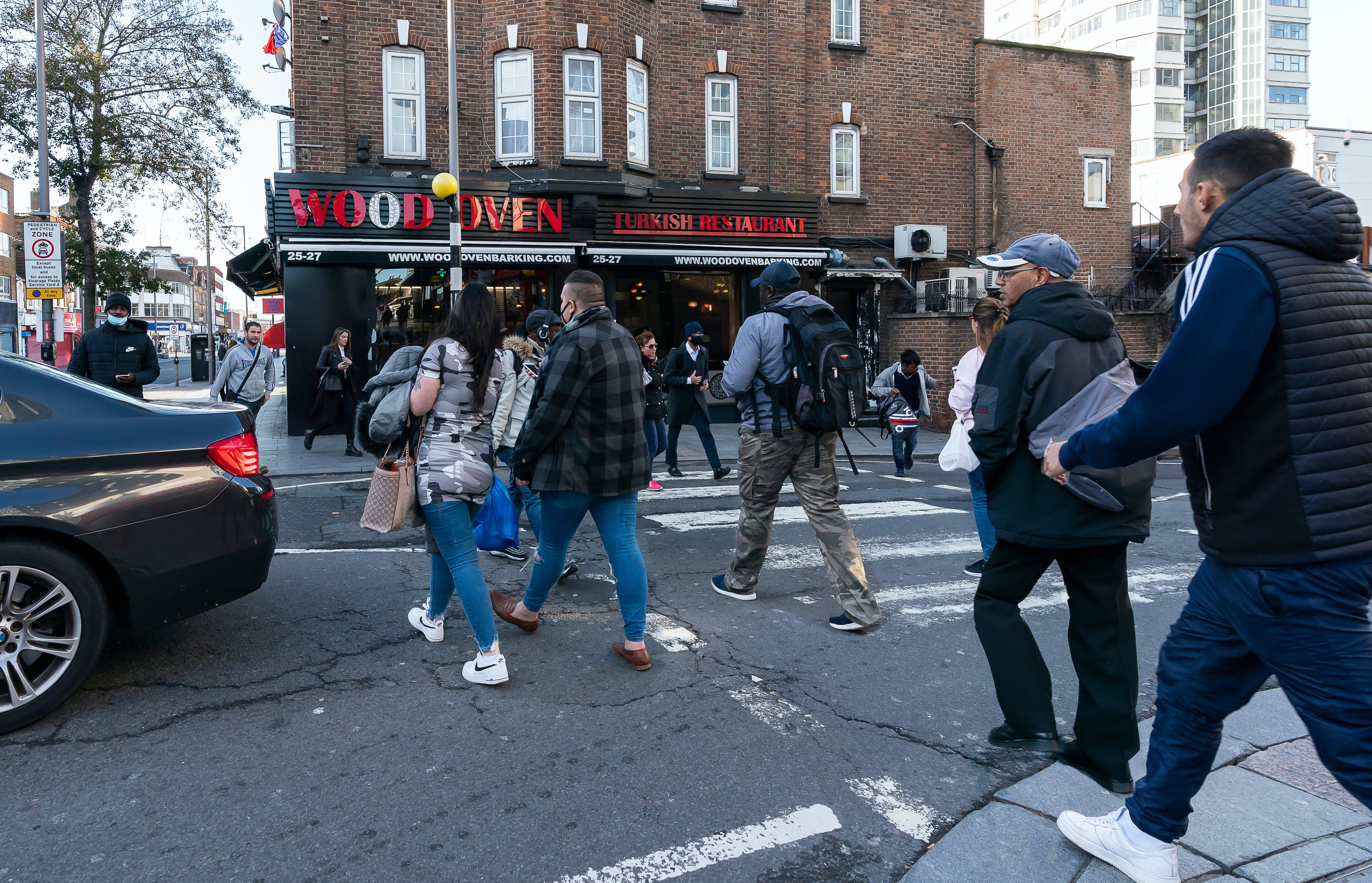 The zebra crossing is busy, but often difficult to use
