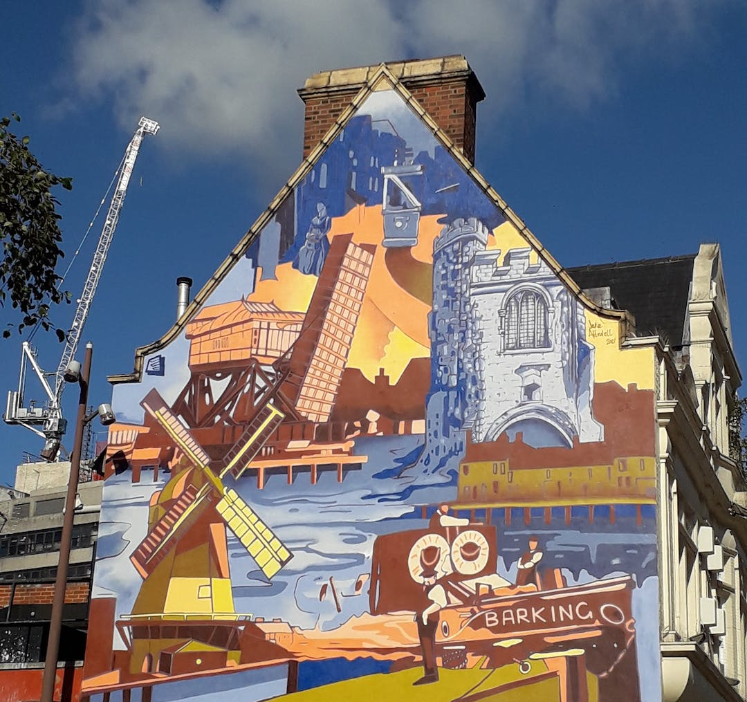 Barking Heritage Mural - by Jake Attewell