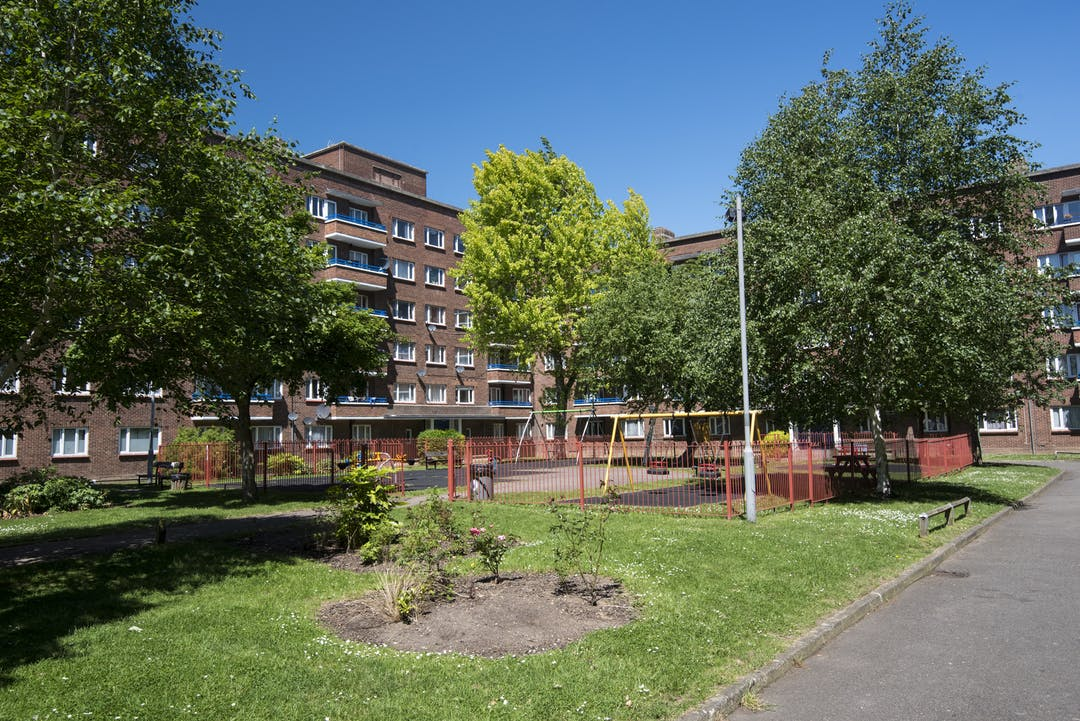 Picture of housing at Cambridge Gardens