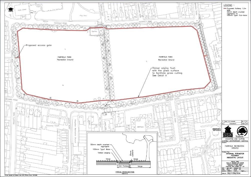 Fairfield Recreation Ground Plan