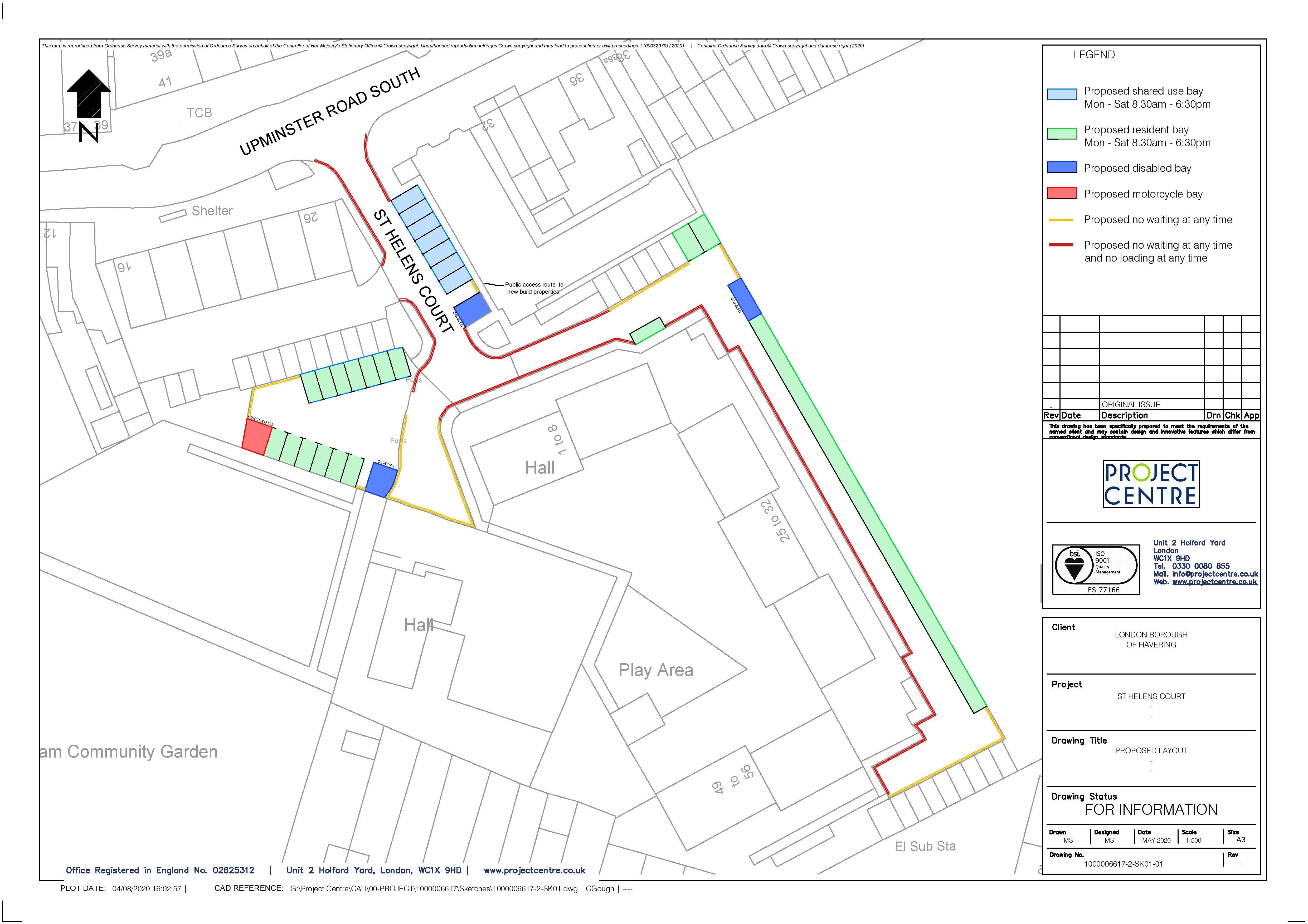 St Helens Court Plan