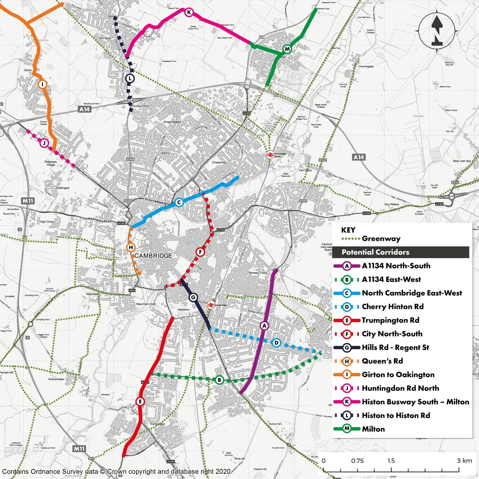 Cycling Plus map web version