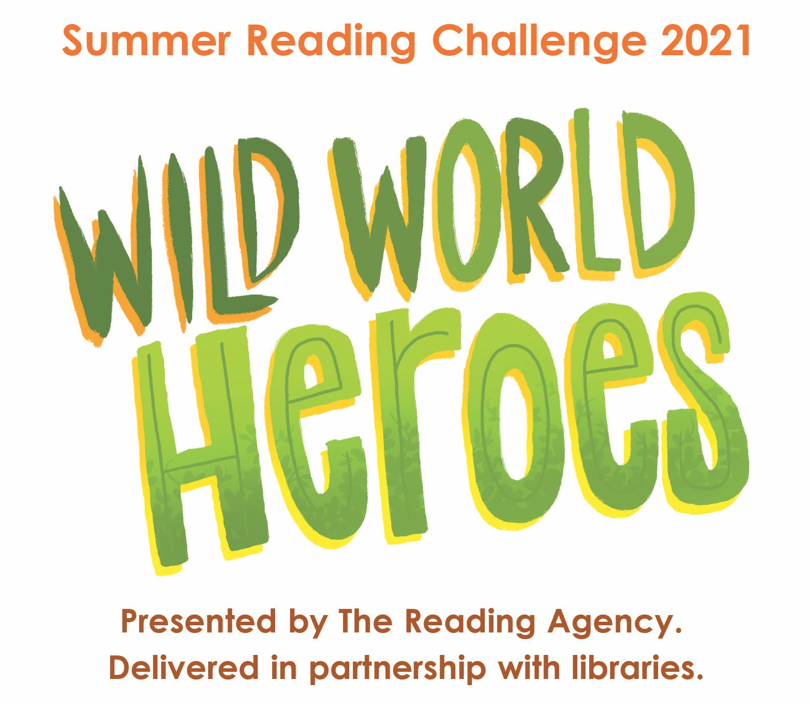 Summer Reading Challenge logo Wild World Heroes