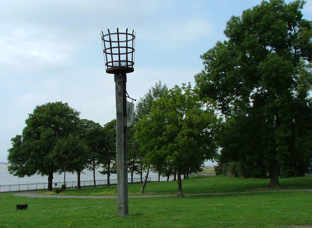 Image of Purfleet Park including Purfleet Beacon