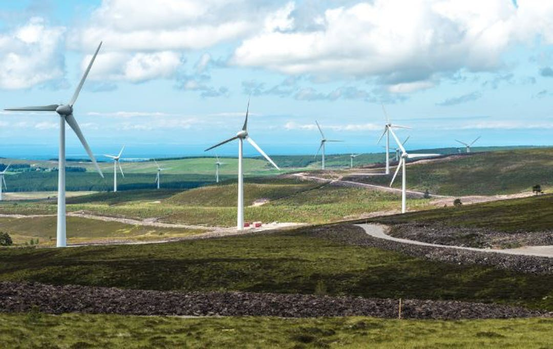 The Berry Burn Wind Farm has been generating clean, renewable electricity since 2014.