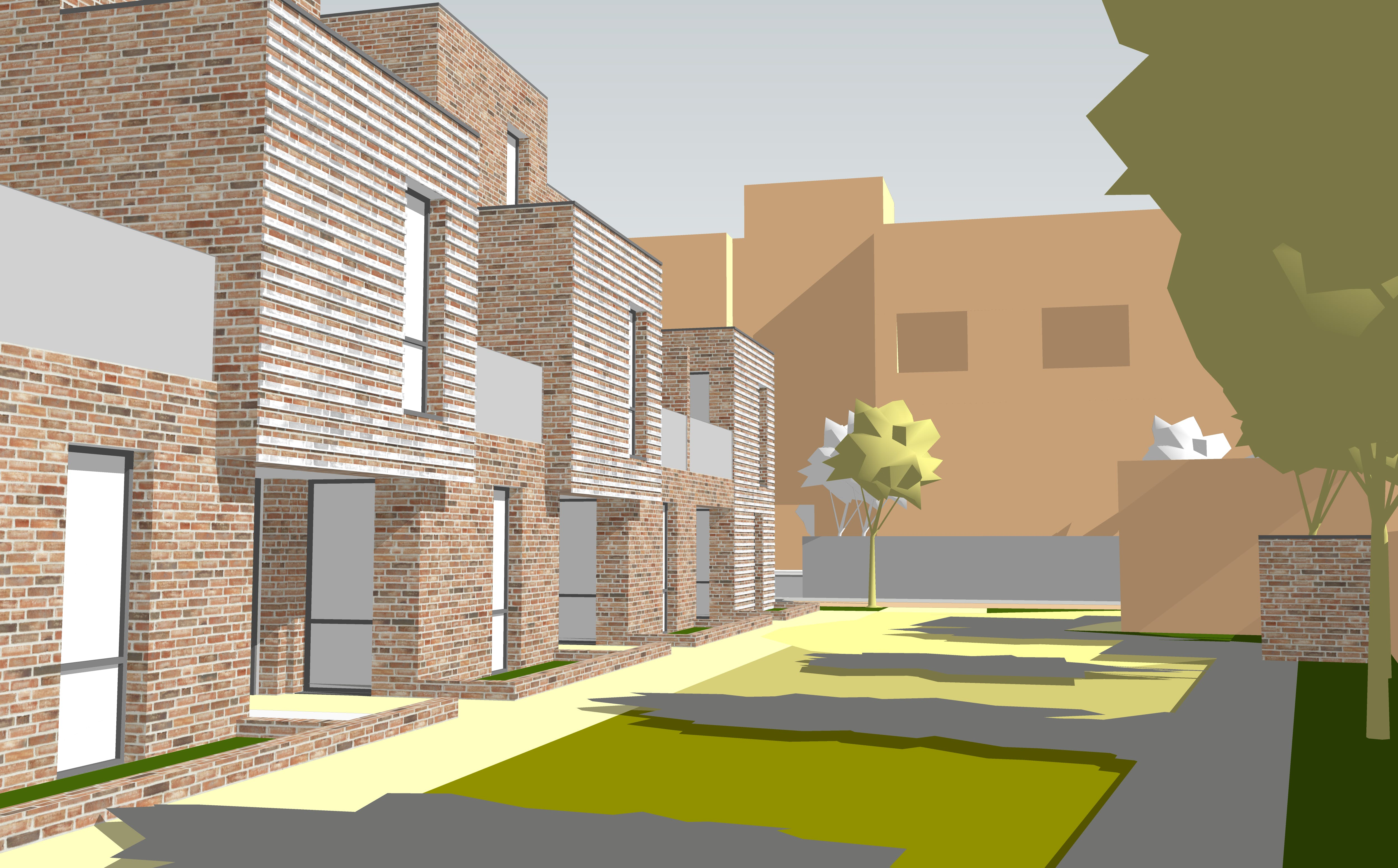Architect's image of the proposed development (3)