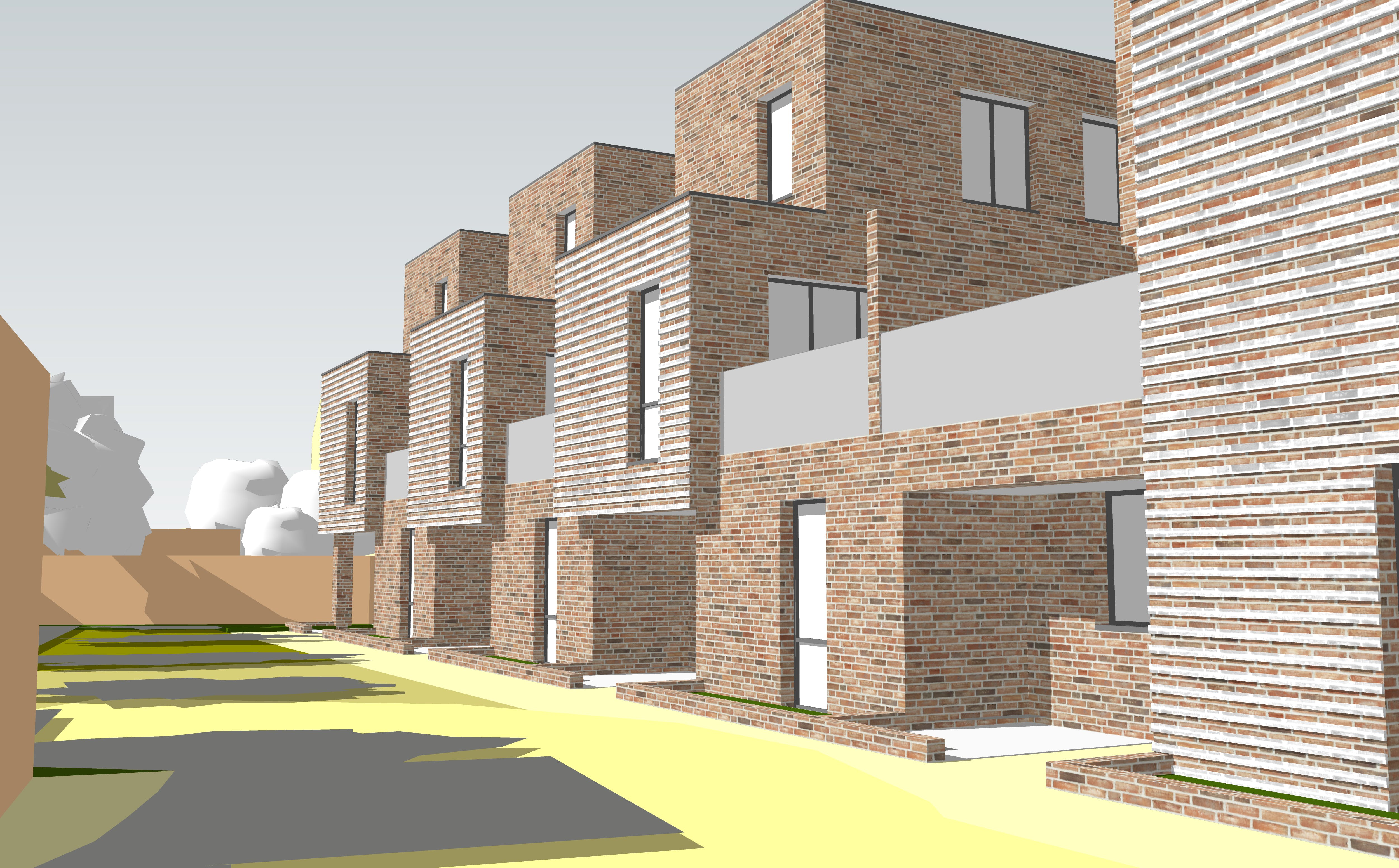 Architect's image of the proposed development (2)