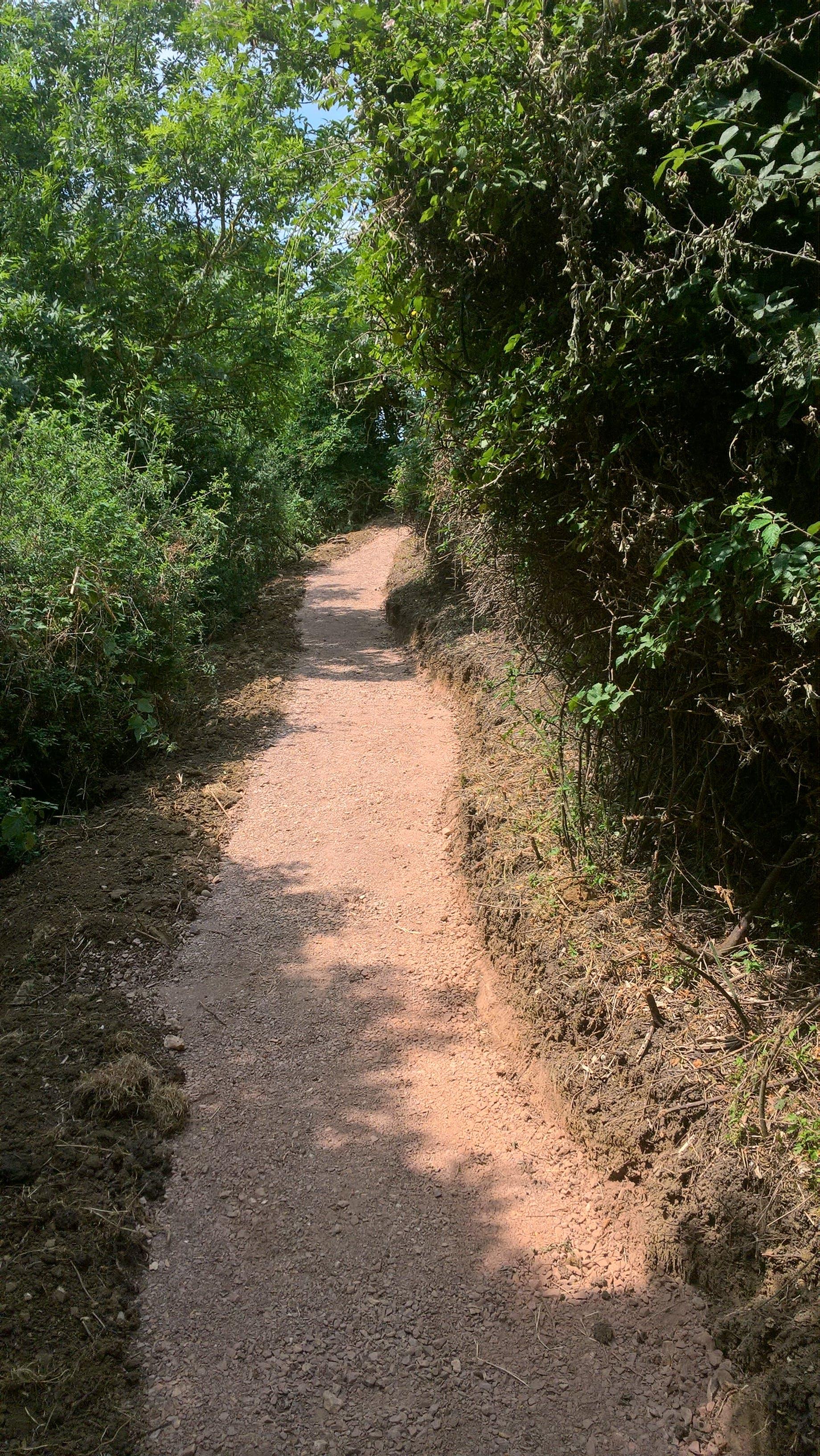 Dorset coast path - after works